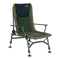 Кресло Carp Expert с подлокотниками и регулировкой спинки. флис (до 150kg)
