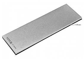 Брусок абразивний, алмазний, для заточування YATO : 150 х 50 х 4 мм, з грануляцією G300 YT-76085