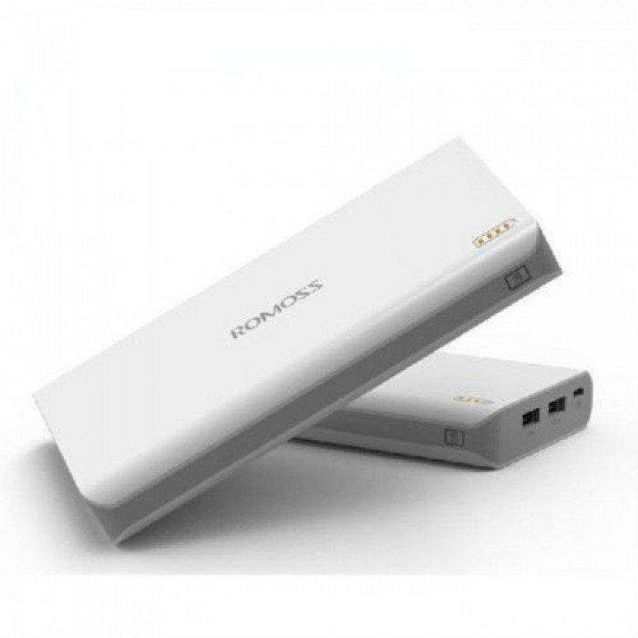 Мобільна портативна зарядка Power Bank 20000 mAh Romoss