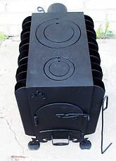 """Буржуйка """"Батарея"""" с вторичным дожигом печных газов, сталь 4мм, фото 3"""