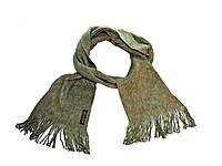 Серый шарф.