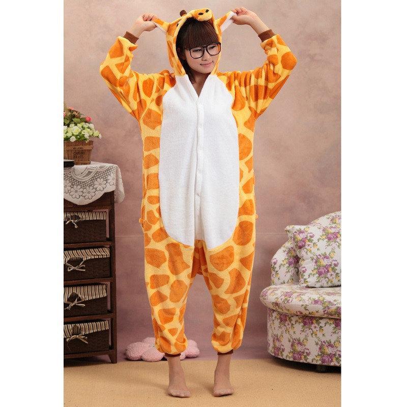 Пижама кигуруми Взрослые и Детские Жираф