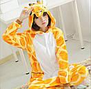 Пижама кигуруми Взрослые и Детские Жираф, фото 4