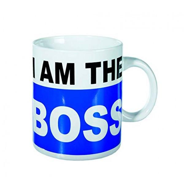 Кружка ООТВ I am the Boss XL керамическая