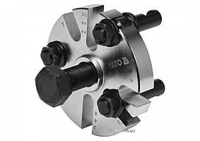 Знімач шківа в ГРС двигуна, універсал. 3-лапковий YATO: тримач веретена- М24, Ø=60-90 мм, YT-06340
