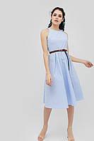 """Платье """"YONS"""" голубой весна"""