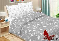 Полуторный комплект постельного белья  Звезды, разные размеры