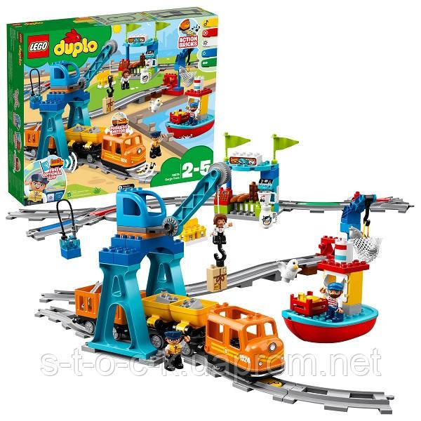 """LEGO Дупло """"Грузовой поезд"""""""