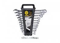 Набор ключей рожково-накидных VOREL М6-22 мм 12 шт