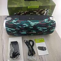 Портативная Bluetooth Колонка Hopestar A6 БАС ОРИГИНАЛ беспроводная водонепроницаемая акустика камуфляж
