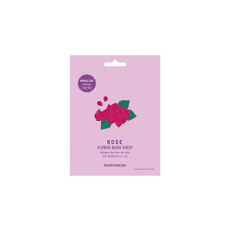 Маска тканевая Baroness Экстракт цветов розы