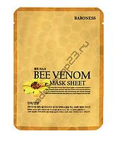 Маска тканевая для лица Baroness пчелиный яд Mask Sheet