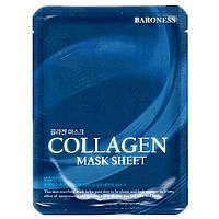 Маска тканевая для лица Baroness коллаген Mask Sheet