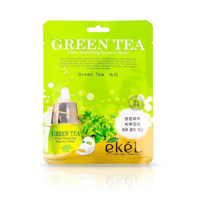 Маска тканевая Ekel Экстракт Зеленого Чая