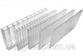 Сотовый поликарбонат 10 мм Placarb прозрачный