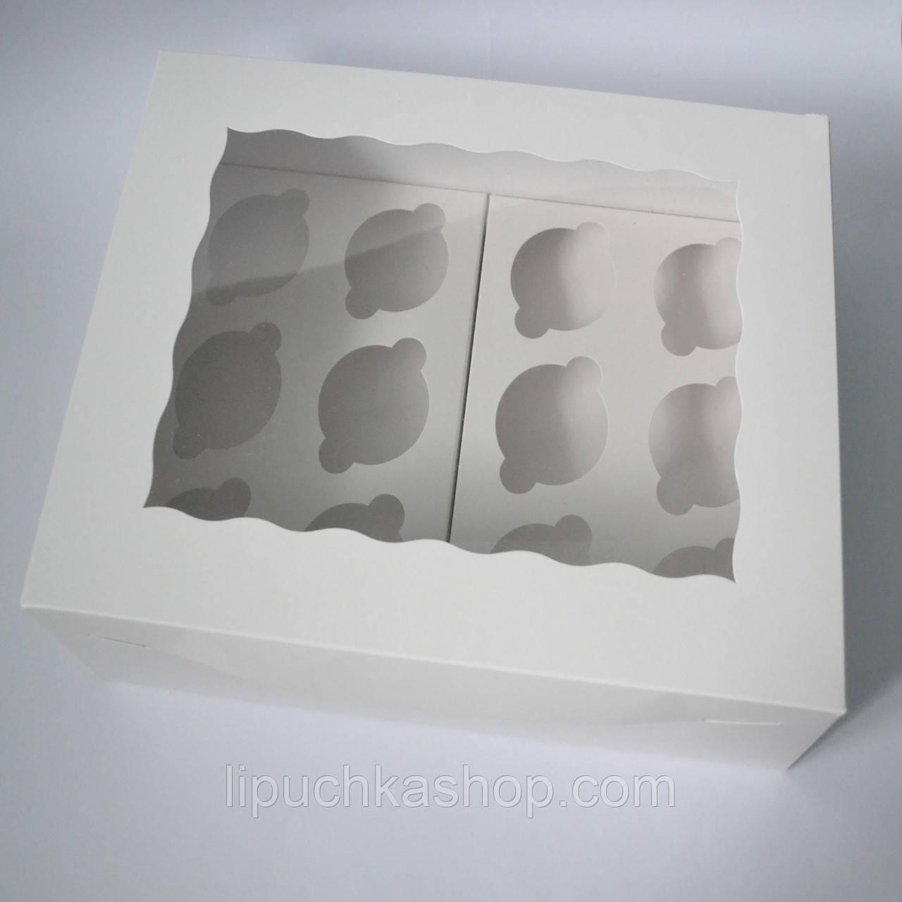 Коробка на 12 капкейков (с окошком), фото 1
