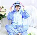 Пижама кигуруми Взрослые и Детские Стич, фото 2