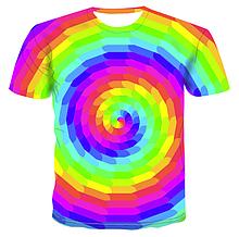 Яркая футболка Больших размеров XXXL 4XL рисунок HYPNOTIK