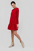 """Платье """"MONICA"""" красный осень-зима"""