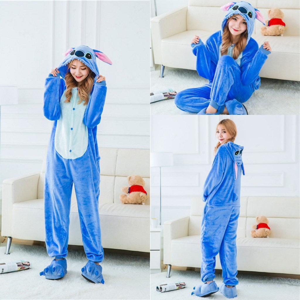Пижама кигуруми Взрослые и Детские Стич