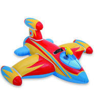 "Надувная игрушка-рейдер (плотик) Intex, 56539 ""Самолётик"""