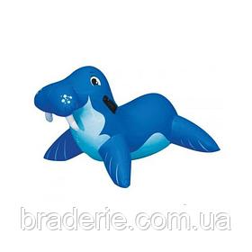 """Надувная игрушка-рейдер (плотик) Intex, 56554 """"Морж"""" (119*62 см)"""