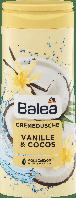Крем-гель для душа Balea Vanille & Cocos, 300 мл., фото 1