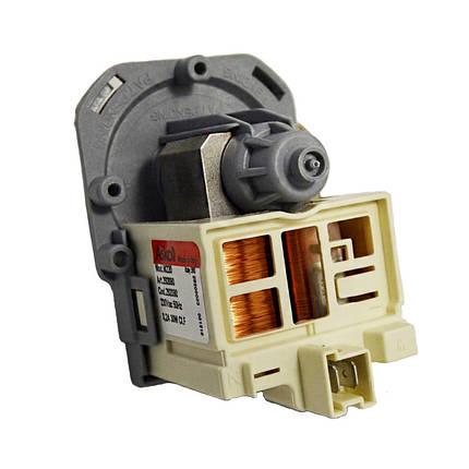 Насос Askoll M220 30W для стиральной машины Zanussi, Electrolux (фишка сзади) 292090, фото 2
