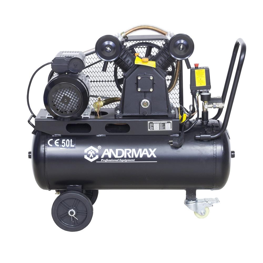 Воздушный компрессор 50 л, 2.2 кВт ANDRMAX