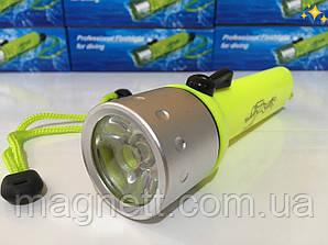 Водонепроницаемый подводный ручной фонарик для дайвинга
