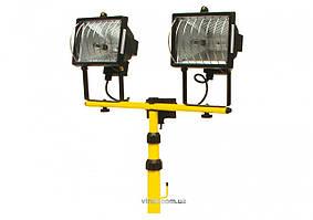 Прожектор галогенний на штативі VOREL 400 Вт 2 шт.