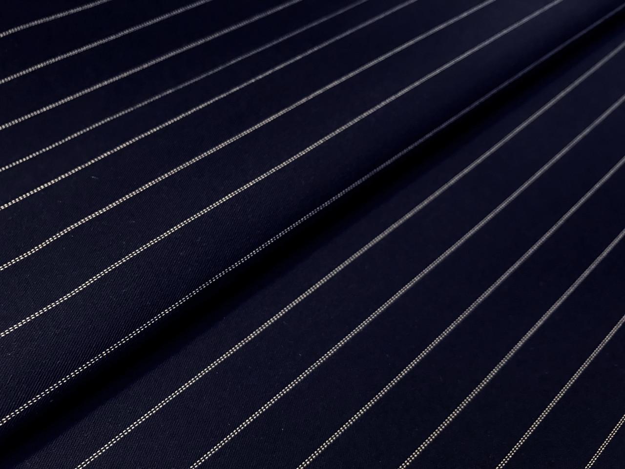 Костюмный тиар полоска полоска 15 мм, темно-синий