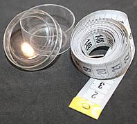 Сантиметровая лента двусторонняя в коробке, 150см