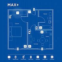 Беспроводная охранная сигнализация для квартиры MAX+