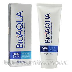 Пенка для умывания Bioaqua Pure Skin Anti Acne-light Print & Cleanser