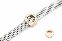 Серебряный шарм для плоских браслетов, фото 1