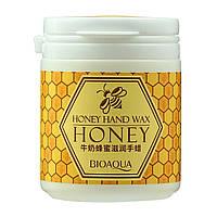Маска для рук парафиновая BIOAQUA Honey Hand Wax с экстрактом меда 170 г