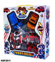Набор трансформеров Тобот (4 в 1) Tobot DT-339-11