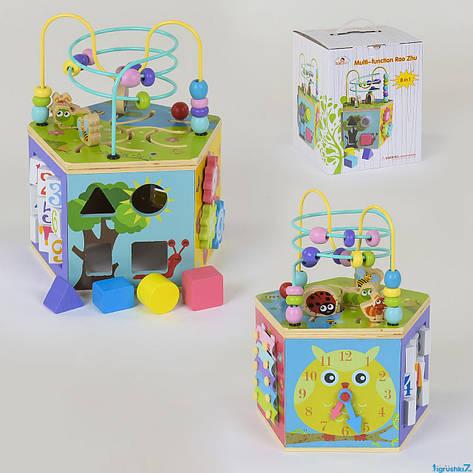 Деревянный логический куб, фото 2
