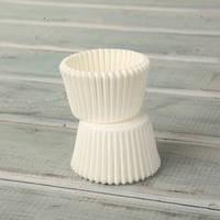 Капсула конфетная (белая) 100 шт.
