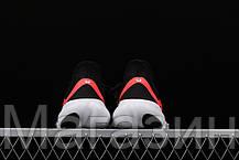 Мужские кроссовки Nike Free RN 5.0 Black/White (Найк Фри Ран) черные с белым, фото 3