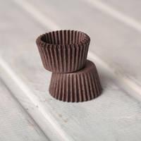 Капсула конфетная (коричневая) 100 шт.