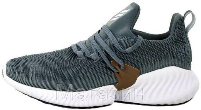 """Мужские кроссовки adidas Alphabounce Instinct """"Grey"""" (Aдидас) серые"""