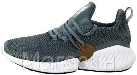 """Мужские кроссовки adidas Alphabounce Instinct """"Grey"""" (Aдидас) серые, фото 2"""