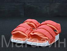 Женские сандалии Adidas Adilette Sandal 2.0 Pink/White (Адидас) розовые, фото 2