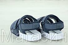 Женские сандалии adidas Sandals Grey/White (босоножки Адидас) серые, фото 3