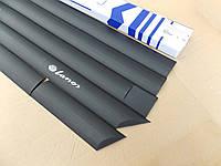Daewoo Lanos молдинги накладки боковые на двери (Польша) Daewoo Lanos Дэу Ланос защитные кузова авто автомобильные