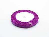 Лента атласная,фиолетовая, 6 мм. (рулон 23 м)