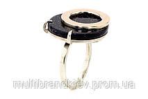 Серебрянное кольцо (с золотыми накладками)