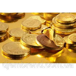 Шоколадные евро 1,5 кг, 224 шт